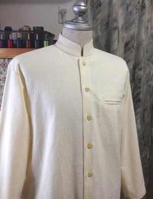 あずみ野木綿のメンズシャツ