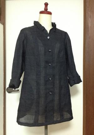 麻の着物からジャケット