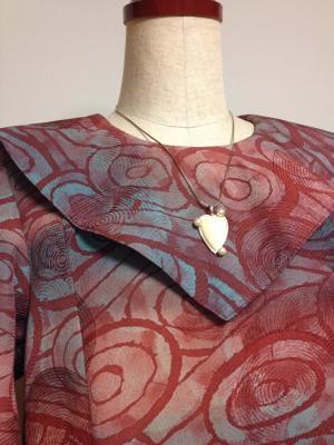 羽織から作ったワンピース